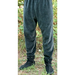 Medieval Velvet Stretch Pants 100836