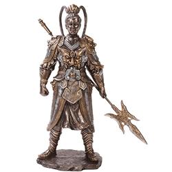 by the sword lu bu statue
