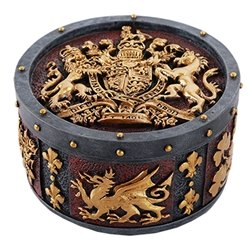 Coat of Arms Trinket Box