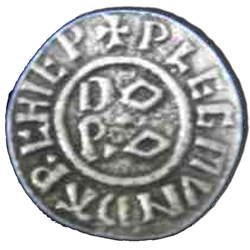 Medieval Coin Button