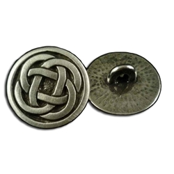 Celtic Quad Knot Button