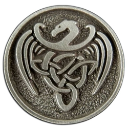 Celtic Dragon Button