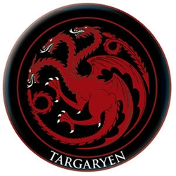 Targaryen Embroidered Patch