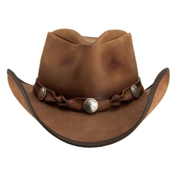 Comstock Leather Hat