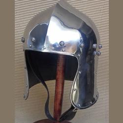 By The Sword - North Itailan Barbuta Helmet AH-3843