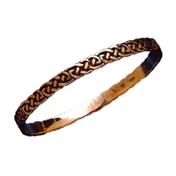By The Sword - Copper Celtic Knot Bangle