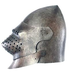 By The Sword - LARP Great Bascinet Helmet