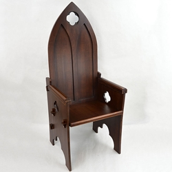Gothic Medieval High Back Chair Medieval ChairMedieval throneMedieval C& Chair : medieval chair - lorbestier.org