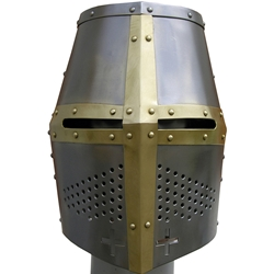 By The Sword - Medieval Great Helm