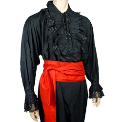 By The Sword Pirate Captain 39 S Ruffled Shirt Plus Size