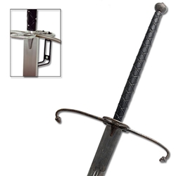 By The Sword - Hanwei Lowlander Two Handed Antiqued Great