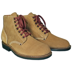 3797fbc09fb8c By The Sword - US WWII Rough Out Service Boots