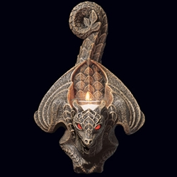By The Sword Dragon Wall Sconce
