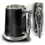 Turpin's Gallows Leather Tankard 17-AAT36