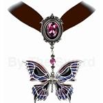 Death's-Head Butterfly Choker 17-P633