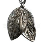 Elven Double Leaf Necklace 21-2204