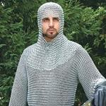 Butted Steel Chainmail Shirt 26-300170