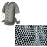 "Chainmail Haubergeon 60"" Mail Shirt Code B AB2503 High Tensile Butted Rings"