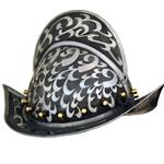 Engraved Comb Morion Helm AH-3809-E
