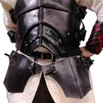 Leather Tassets Thigh Armor