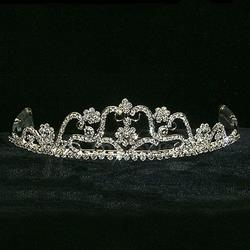Swirve and Flower Tiara 172-11310