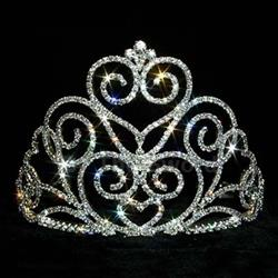 Victorian Heart Tiara - Small 172-12551