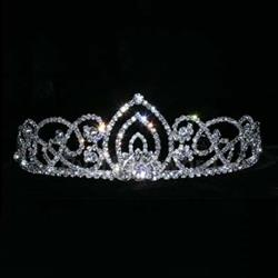 "Living Orchid Tiara - 2"" 172-15439"