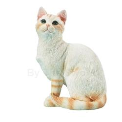 American Short Tail Cat Statue 18-5662