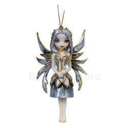 Silver And Gold Fairy Strangeling Ornament