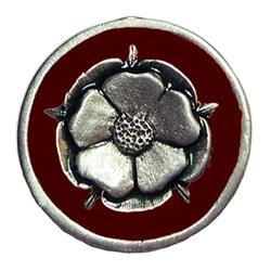 Tudor Rose Pin 21-2258