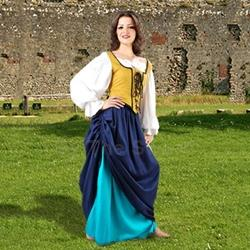 Double-Layer Medieval Skirt 22-C1107