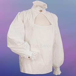 High Collared Elizabethan Blouse 26-101156