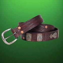 Outlaw Thin Leather Belt 26-201401