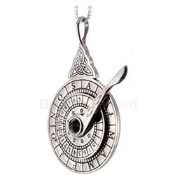Silver Nocturnal Stardial Pendant 289-NO2SIL