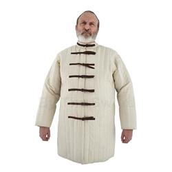 Gambeson, Natural, Buckle Closure XL AB0144 Get Dressed For Battle