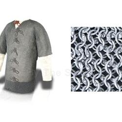 "Chainmail Haubergeon 48"" Chest, Code 9 29-AB2472"