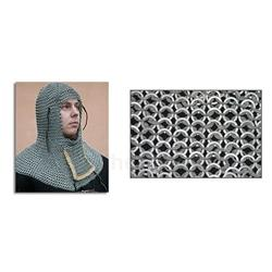 Chainmail Coif W-Ventail Code 5