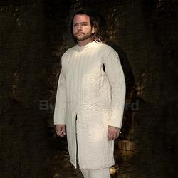 Gambeson Closed Front in Natural XXL AB2950 Get Dressed For Battle