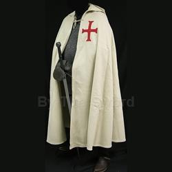 Knight Templar Crusader Cloak in Wool GB0210 Get Dressed For Battle