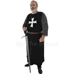 Hospitaller Crusader Surcoat in Wool and Linen GB0240 Get Dressed For Battle