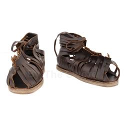 Roman Reenactor Sandals Dark Brown GB0904 Get Dressed For Battle
