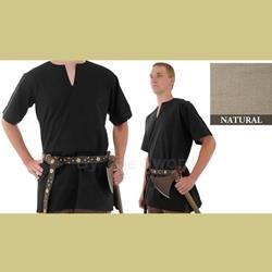 Medieval Tunic, Natural, sz Med 29-GB3605