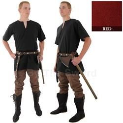 Medieval Tunic, Red, sz Extra Large 29-GB3620