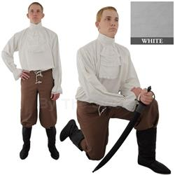 Napoleonic Shirt, White Extra Large 29-GB3912