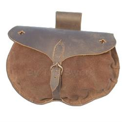 15th Century Soldiers Pouch - Roughout 29-OB0616