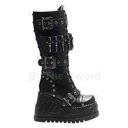 Stomp Bullet Wedge Platform Boots 34-3142