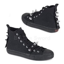 Deviant Spiked High Top Sneakers 34-3205