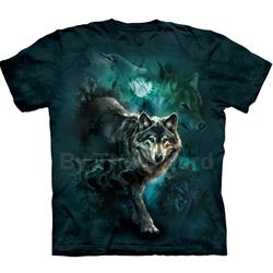 Night Wolves Collage Youth's T-Shirt 43-1533030