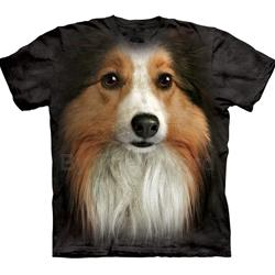 Sheltie Face Youth's T-Shirt 43-1533830