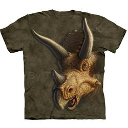 Triceratops Head Youth's Tee Shirt 43-1534210